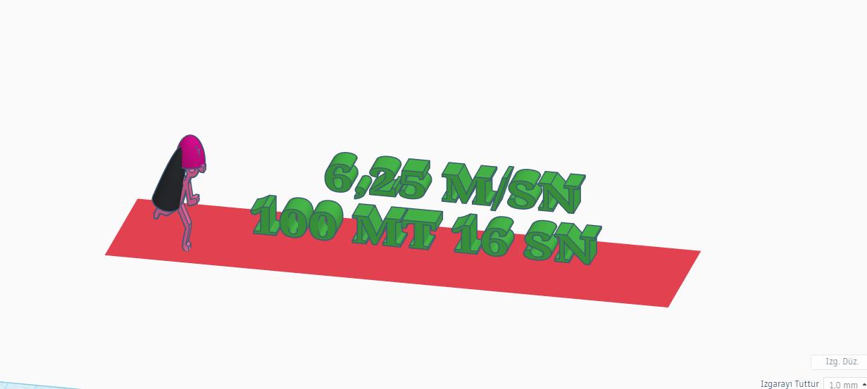100 mt 16 sn