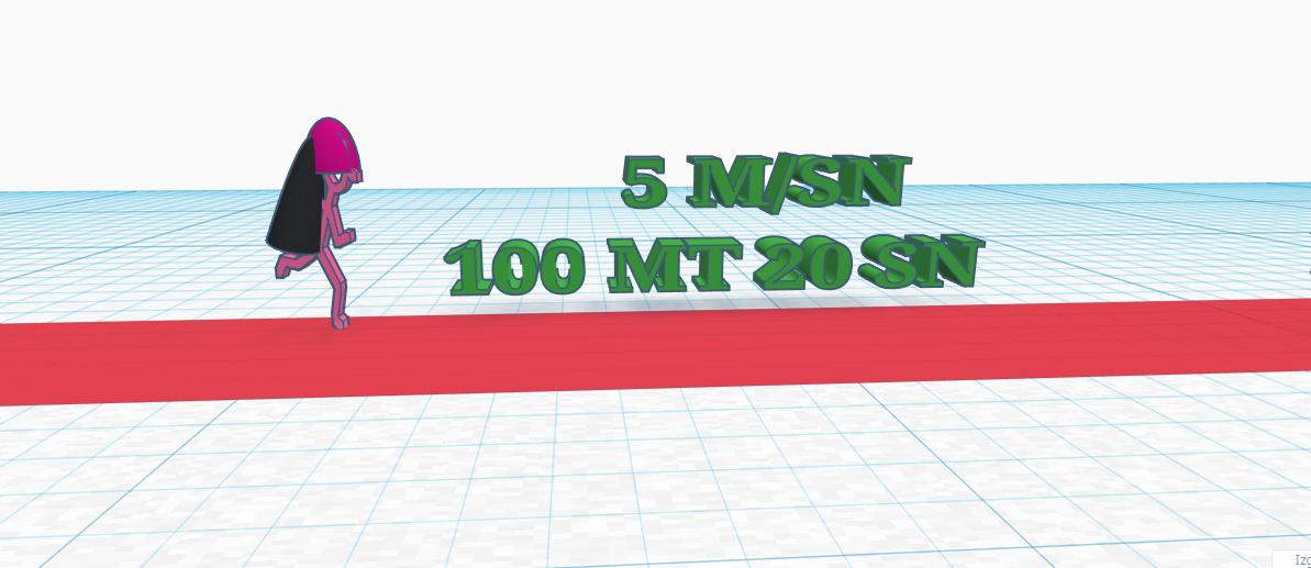 100 mt 20 sn